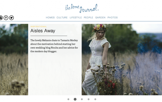 The Home Journal – Aisles Away