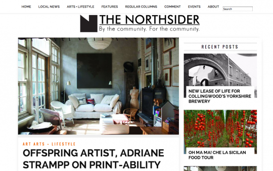 The Northsider – Adriane Strampp