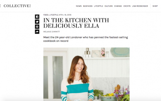 Collective Hub – Deliciously Ella